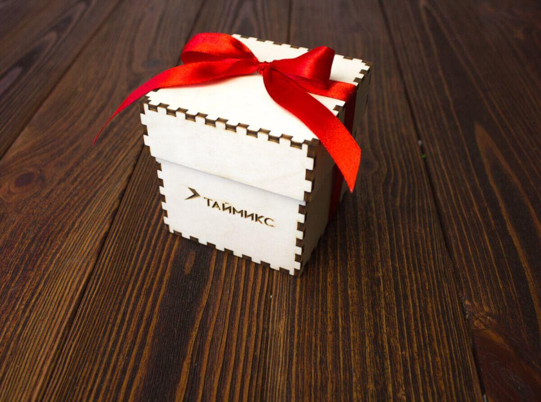 Подарок с шоколадом 2